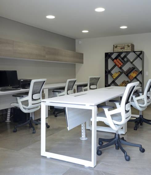 Study/office by VICTORIA PLASENCIA INTERIORISMO