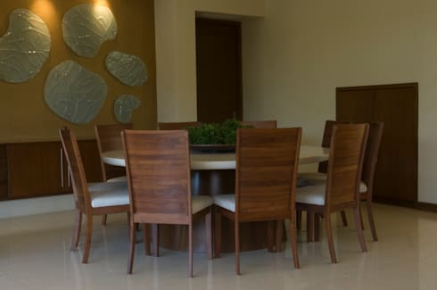 Comedor : Comedores de estilo moderno por VICTORIA PLASENCIA INTERIORISMO