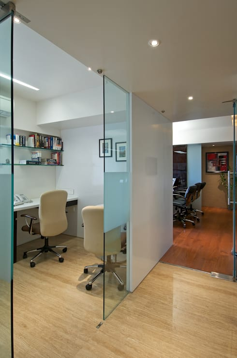 CE Office :  Offices & stores by KdnD Studio LLP