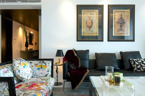 SM Apartment : modern Living room by KdnD Studio LLP