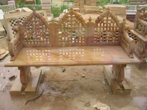 Outdoor Bench:  Garden  by Vinod Murti Museum