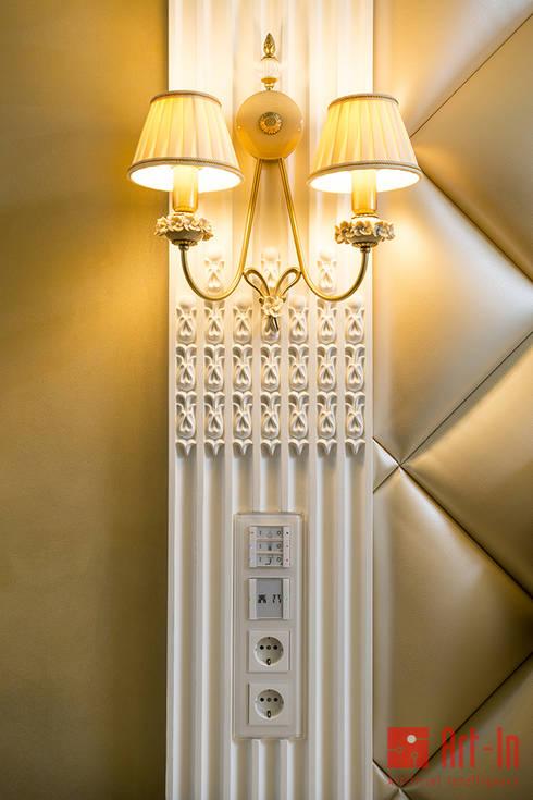Роскошный оникс в Умном Доме: Стены в . Автор – Art-In