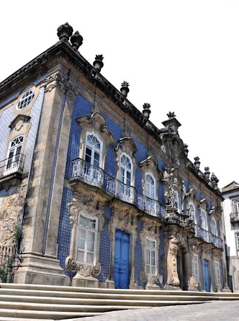 Palácio do Raio, Centro interpretativo de memórias da Misericórdia de Braga: Casas clássicas por Miguel Guedes arquitetos