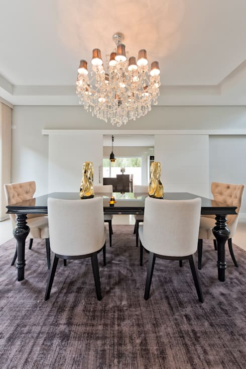 RVD: Salas de jantar clássicas por Angelica Pecego Arquitetura
