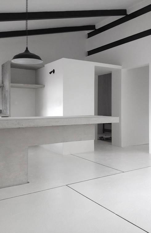 Comedores de estilo minimalista por CENTRAL ARQUITECTURA