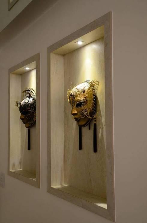Comedores de estilo  por Giovana Martins Arquitetura & Interiores