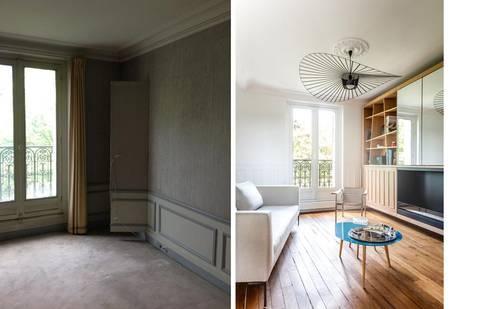 appartement 3 pi ces 63m2 por createurs d 39 interieur lyon. Black Bedroom Furniture Sets. Home Design Ideas