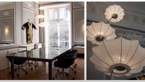 bureau paris 1 par architectural deco homify. Black Bedroom Furniture Sets. Home Design Ideas