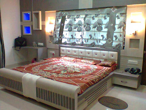 a bed room project: modern Bedroom by M Design