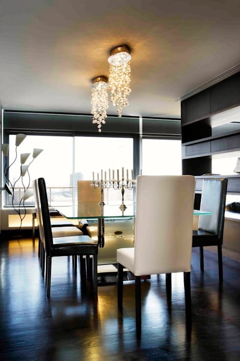 RIVIA: Comedores de estilo  de MILLENIUM ARCHITECTURE