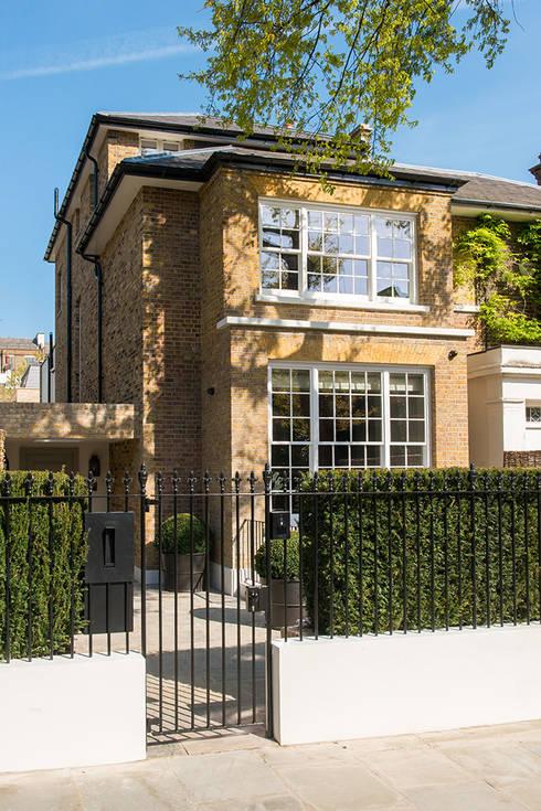 Casas modernas por Nash Baker Architects Ltd