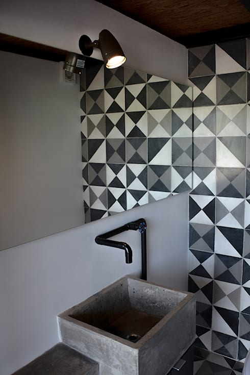Baños de estilo  por Proyecto Cafeina