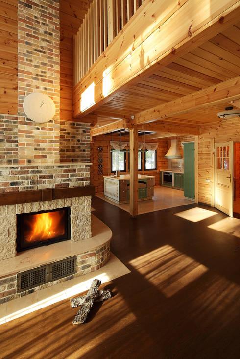Projekty,  Salon zaprojektowane przez Marina Pennie Design&Art