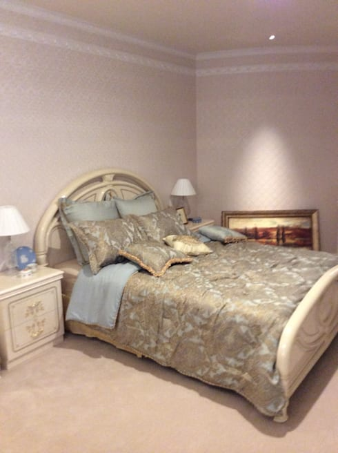 施工事例1: ㈱K2一級建築士事務所が手掛けた寝室です。