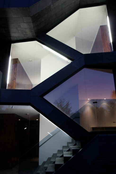 Villa van Lipzig:  Ramen door Loxodrome design&innovation