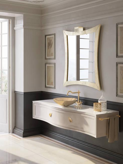 10 stili per 10 mobili sospesi per un bagno da sogno - Mobile bagno stile classico ...