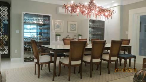 Projeto: Salas de jantar modernas por alessandrabecel