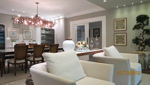 Projeto: Salas de estar modernas por alessandrabecel