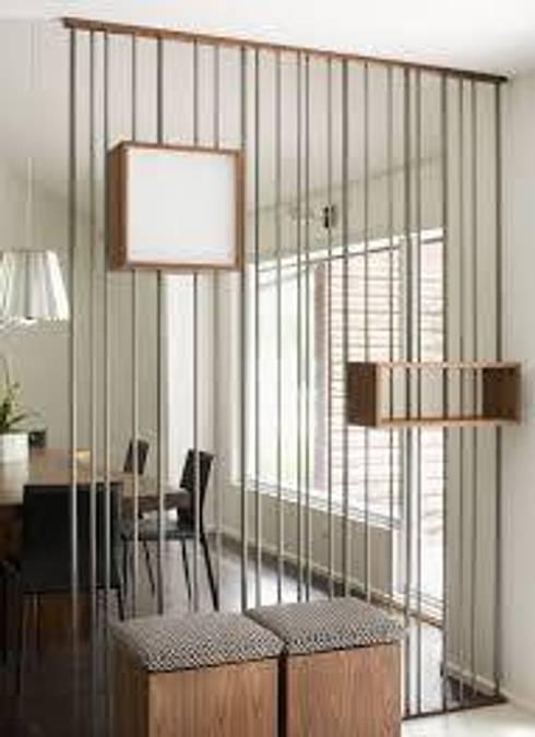 Detalles Interiores: Comedores de estilo moderno por JS ARQUITECTURA