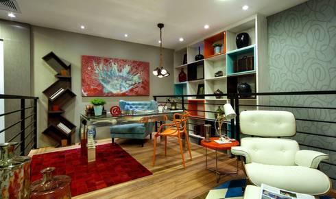 Detalles Interiores: Salas de estilo moderno por JS ARQUITECTURA