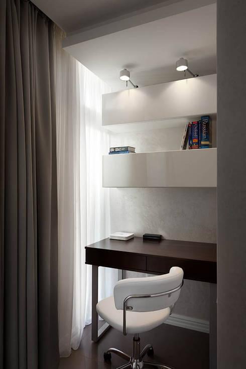 U-Style design studio의  서재 & 사무실