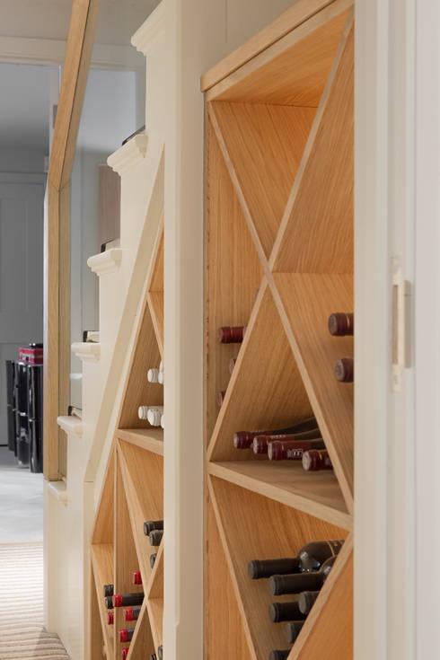 Bodegas de estilo  por Nash Baker Architects Ltd