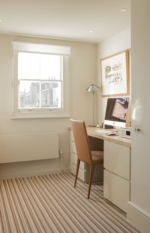Study/office by Nash Baker Architects Ltd