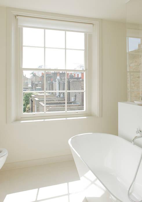 Bathroom by Nash Baker Architects Ltd