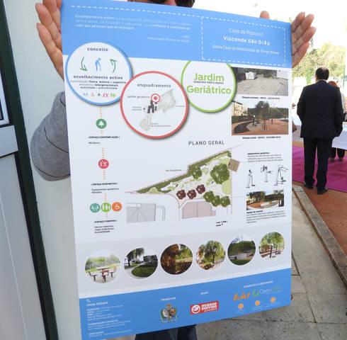 Poster : Jardins campestres por OpenGreen