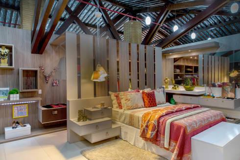 Roupa de Cama especial: Espaços comerciais  por Bruno Sgrillo Arquitetura