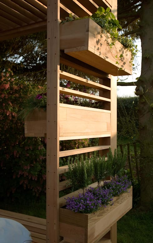 Jardines de estilo  por ecospace españa