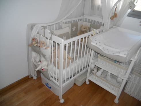 Su habitación antes del cambio:  de estilo  de RoomRoomBebé