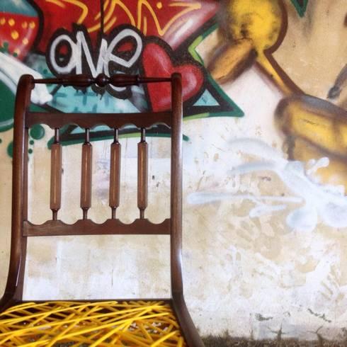As entrelaçadas: Sala de estar  por Catraia