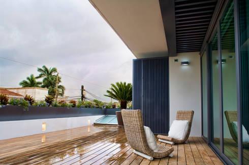 Residencia jc roa por aida traconis arquitectos en merida - Arquitectos en merida ...