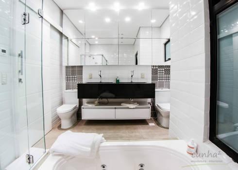 Arquitetura Sustentável: Banheiros minimalistas por cunha² arquitetura