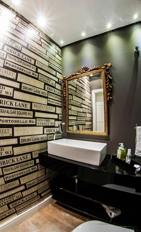 Arquitetura Sustentável - Lavabo: Banheiros minimalistas por cunha² arquitetura