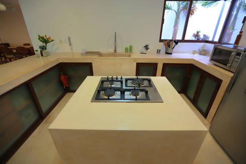 Casa Mo: Cocinas de estilo topical por FGO Arquitectura