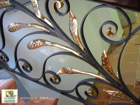 Barandillas con forja de hierro o aluminio by vellocinos - Barandillas de forja ...