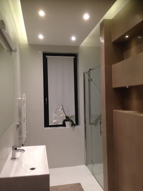 浴室 by Pracownia Projektowa Wioleta Stanisławska