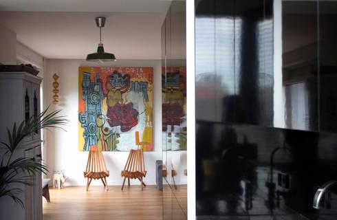 Apartamento BAC: Cozinhas modernas por URBAstudios