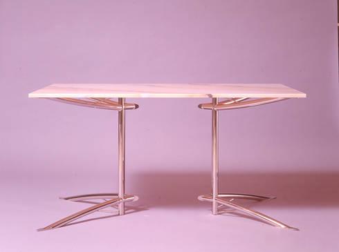 Table306: Guen BERTHEAU-SUZUKI  Co.,Ltd.が手掛けたダイニングルームです。