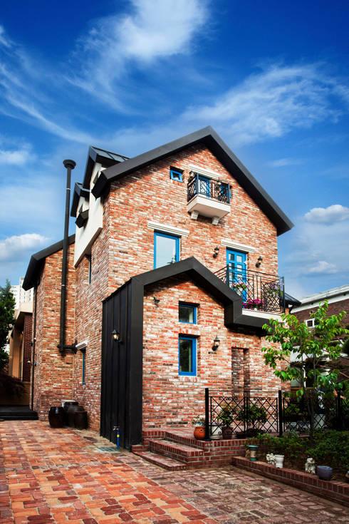 Projekty,  Domy zaprojektowane przez 국민대학교