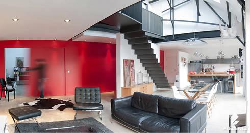 loft por atelier l2 homify. Black Bedroom Furniture Sets. Home Design Ideas