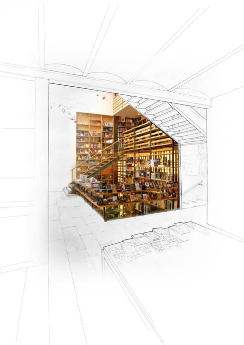 Carfebrería El Péndulo:  de estilo  por Buro Verde Arquitectura s.c.