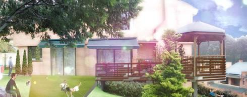 Imaginario Gazzebo + Terraza B17:  de estilo  por Vertice Oficina de Arquitectura