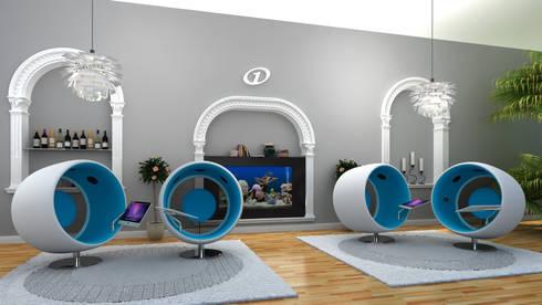 motel one 3d visualisierung by cramer architektur design cad homify. Black Bedroom Furniture Sets. Home Design Ideas