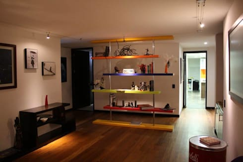 Apartamento Daniel Anzola: Salas de estilo moderno por Heritage Design Group