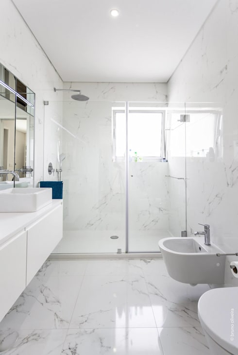 modern Bathroom by bo | bruno oliveira, arquitectura