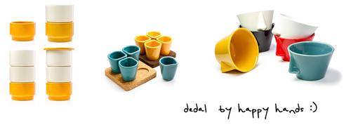 Dedal Ceramics: Copus, Naso, Ujo: Cozinha  por Dedal