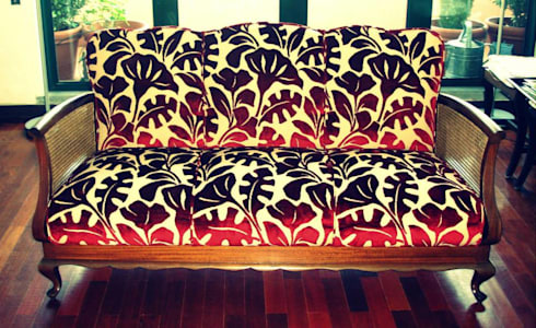 Atelier Fátima Neto: Sala de estar  por Atelier Fátima Neto